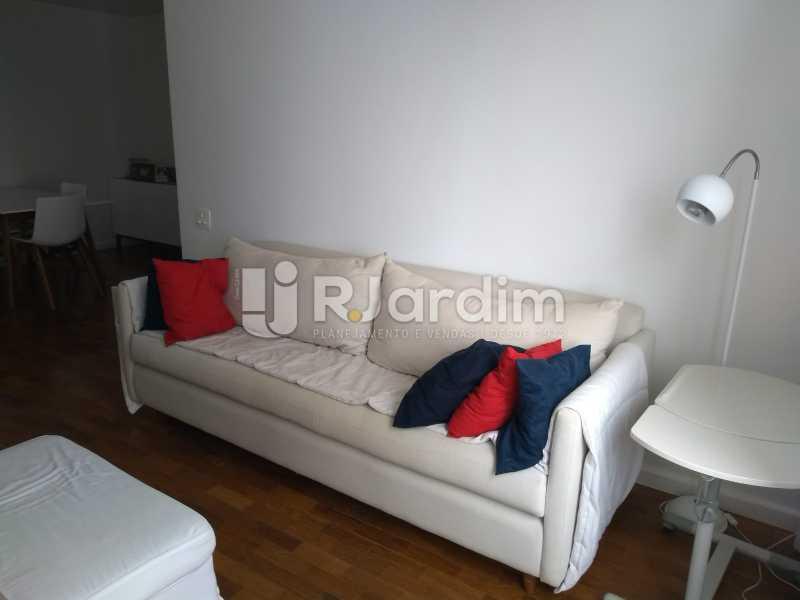 sala - Apartamento à venda Avenida Lineu de Paula Machado,Jardim Botânico, Zona Sul,Rio de Janeiro - R$ 1.390.000 - LAAP21469 - 8