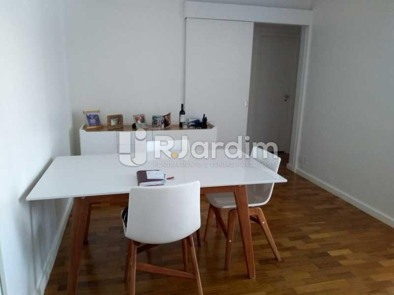 sala - Apartamento à venda Avenida Lineu de Paula Machado,Jardim Botânico, Zona Sul,Rio de Janeiro - R$ 1.390.000 - LAAP21469 - 5