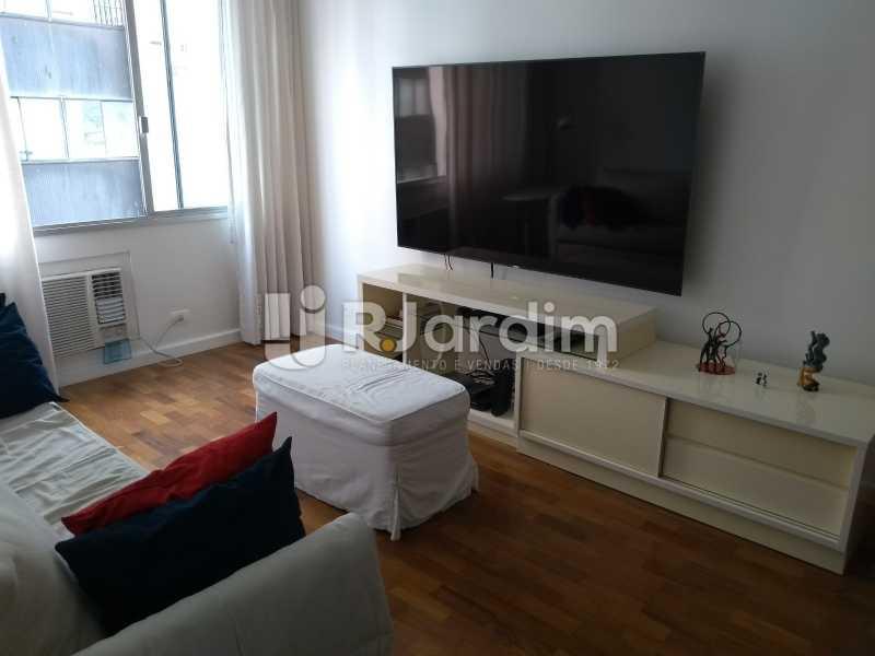 sala - Apartamento à venda Avenida Lineu de Paula Machado,Jardim Botânico, Zona Sul,Rio de Janeiro - R$ 1.390.000 - LAAP21469 - 9