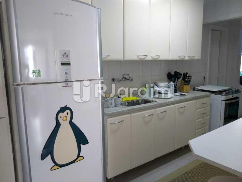 cozinha  - Apartamento à venda Avenida Lineu de Paula Machado,Jardim Botânico, Zona Sul,Rio de Janeiro - R$ 1.390.000 - LAAP21469 - 18