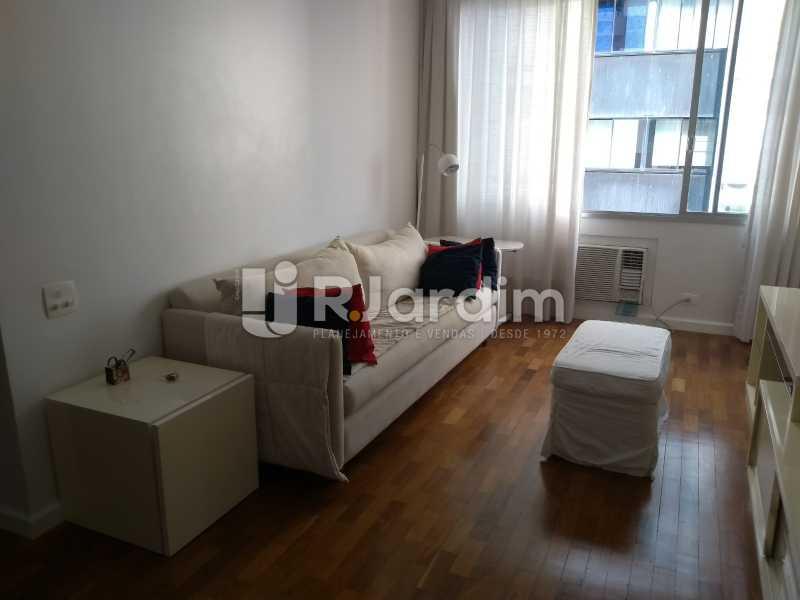 sala - Apartamento à venda Avenida Lineu de Paula Machado,Jardim Botânico, Zona Sul,Rio de Janeiro - R$ 1.390.000 - LAAP21469 - 11