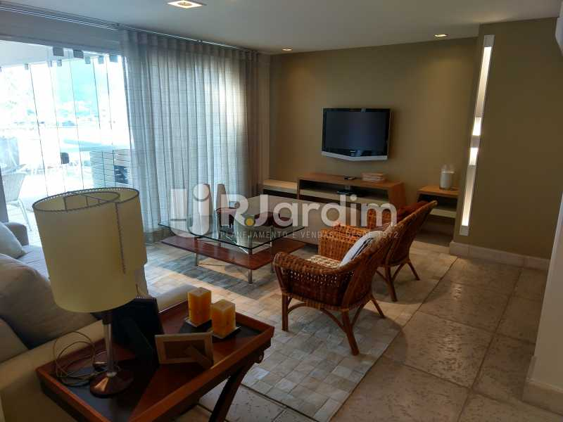Lounge  - Cobertura Leblon, Zona Sul,Rio de Janeiro, RJ À Venda, 3 Quartos, 166m² - LACO30276 - 18