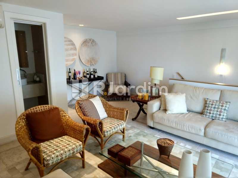 Lounge - Cobertura Leblon, Zona Sul,Rio de Janeiro, RJ À Venda, 3 Quartos, 166m² - LACO30276 - 19