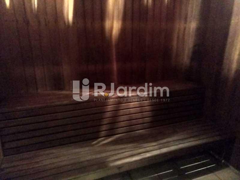 Sauna seca - Cobertura Leblon, Zona Sul,Rio de Janeiro, RJ À Venda, 3 Quartos, 166m² - LACO30276 - 28
