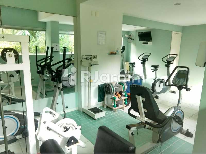 Sala de ginástica - Cobertura Leblon, Zona Sul,Rio de Janeiro, RJ À Venda, 3 Quartos, 166m² - LACO30276 - 30