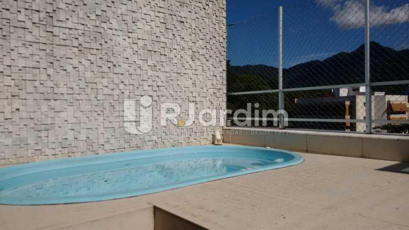 piscina - Cobertura Jardim Botânico 2 Quartos Aluguel - LACO20100 - 15