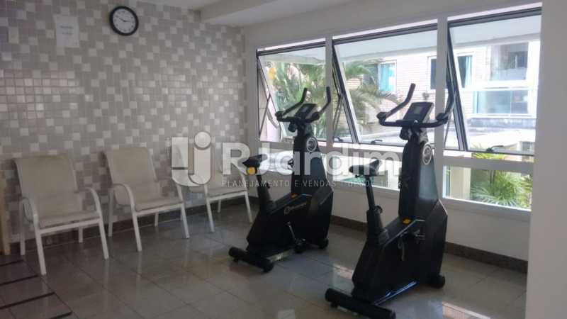 espaço entre sala de ginastica - Cobertura Jardim Botânico 2 Quartos Aluguel - LACO20100 - 21