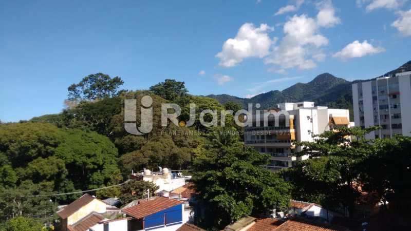 vista da sala - Cobertura Jardim Botânico 2 Quartos Aluguel - LACO20100 - 1