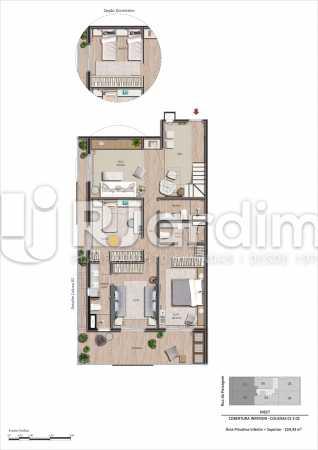 Coberturas 01 e 02 3 quartos - Apartamento Botafogo, Zona Sul,Rio de Janeiro, RJ À Venda, 3 Quartos, 101m² - LAAP32297 - 20