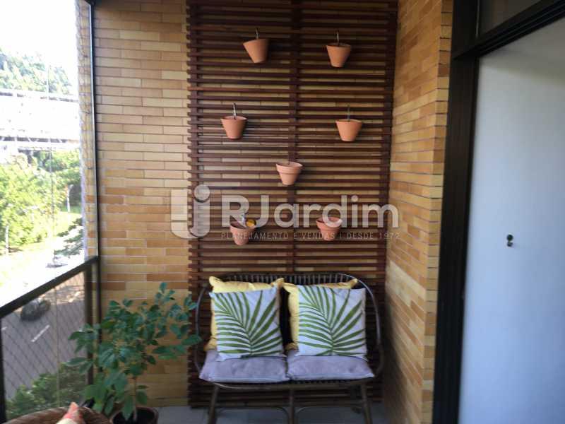 Varanda - Apartamento À Venda - Gávea - Rio de Janeiro - RJ - LAAP32087 - 7