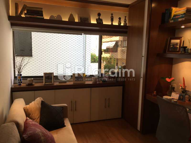 Quarto/escritório - Apartamento À Venda - Gávea - Rio de Janeiro - RJ - LAAP32087 - 18