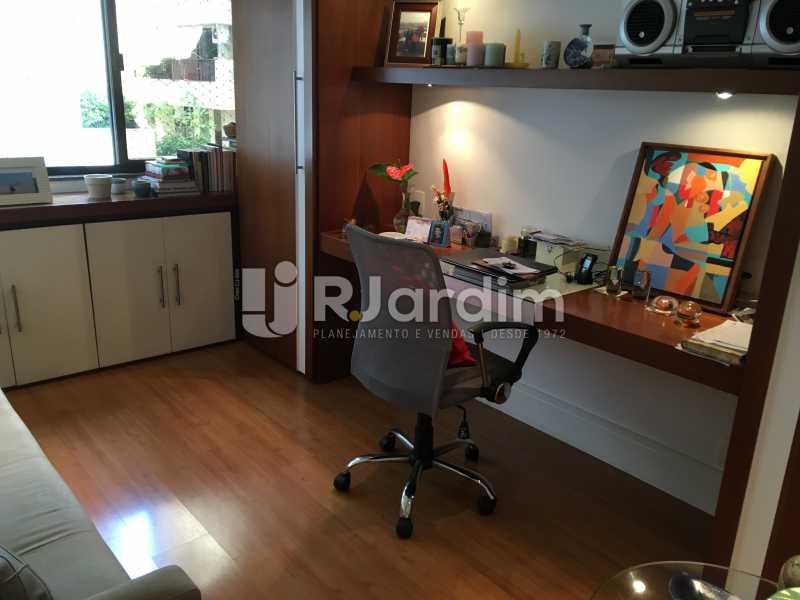 Quarto/escritório - Apartamento À Venda - Gávea - Rio de Janeiro - RJ - LAAP32087 - 17