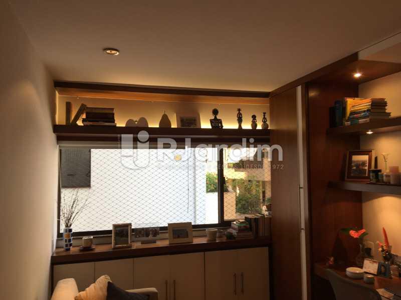 Quarto/escritório - Apartamento À Venda - Gávea - Rio de Janeiro - RJ - LAAP32087 - 19