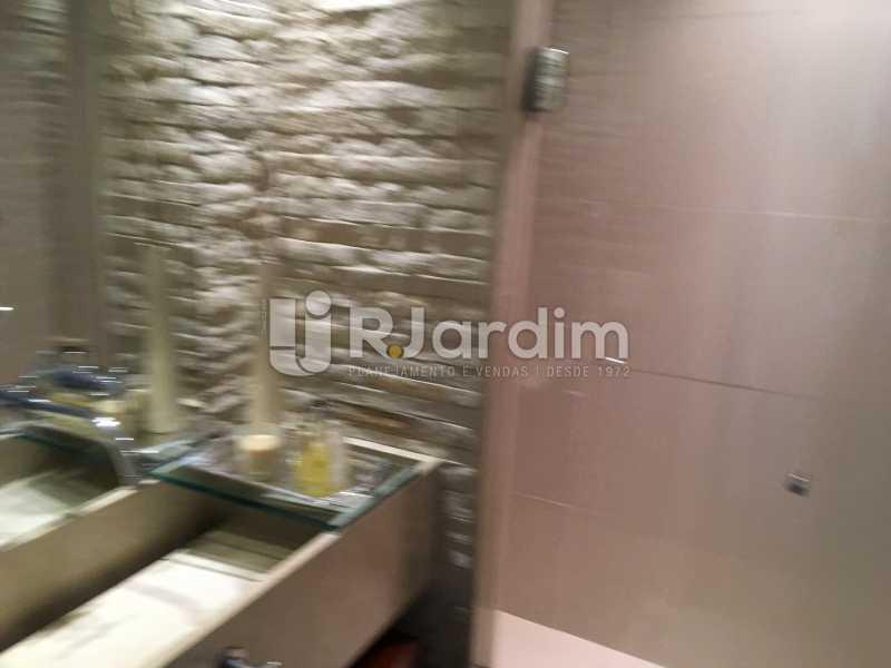 Banheiro social - Apartamento À Venda - Gávea - Rio de Janeiro - RJ - LAAP32087 - 22