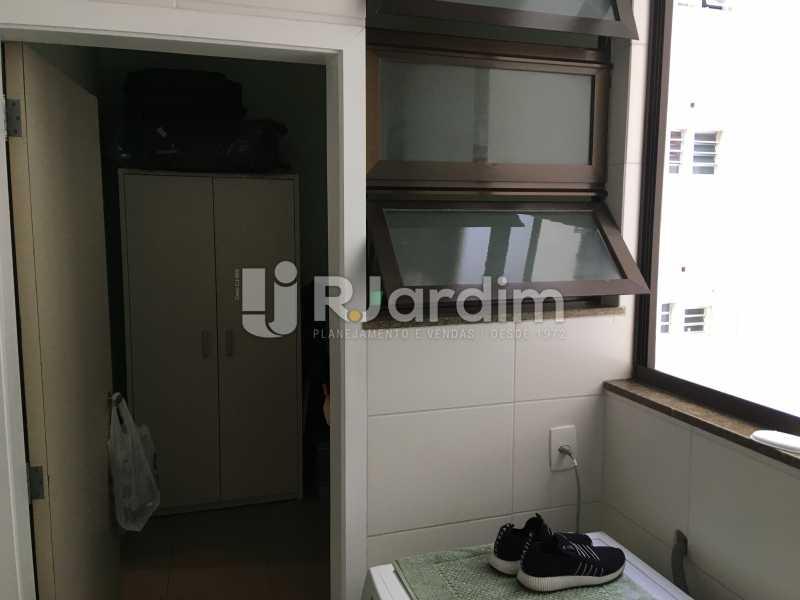 Área de serviço e Dependência - Apartamento À Venda - Gávea - Rio de Janeiro - RJ - LAAP32087 - 26