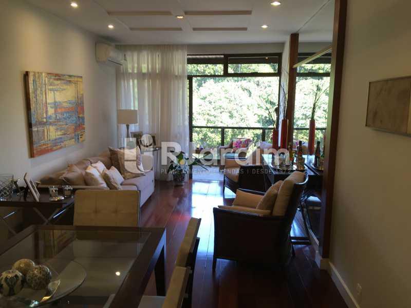 Sala  - Apartamento À Venda - Gávea - Rio de Janeiro - RJ - LAAP32087 - 1