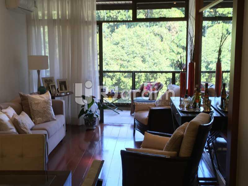 Sala  - Apartamento À Venda - Gávea - Rio de Janeiro - RJ - LAAP32087 - 3