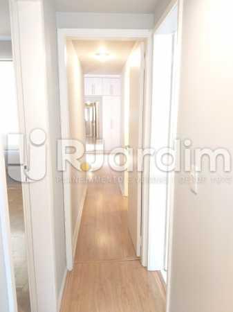 corredor - Apartamento Jardim Botânico 2 Quartos Aluguel Administração Imóveis - LAAP21477 - 12