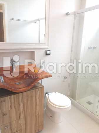 banheiro suite - Apartamento Jardim Botânico 2 Quartos Aluguel Administração Imóveis - LAAP21477 - 10