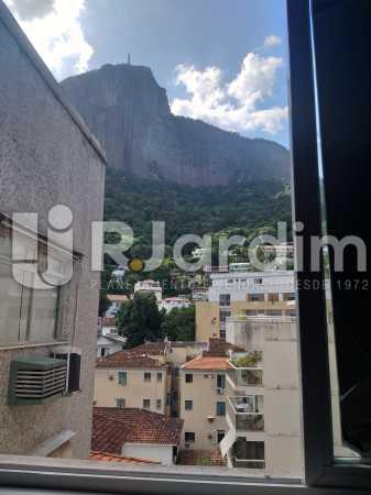 Vista da suite - Apartamento Jardim Botânico 2 Quartos Aluguel Administração Imóveis - LAAP21477 - 1