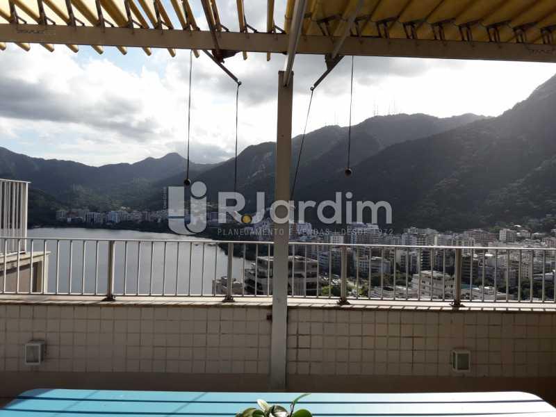 terraço - Cobertura À Venda - Lagoa - Rio de Janeiro - RJ - LACO40183 - 16