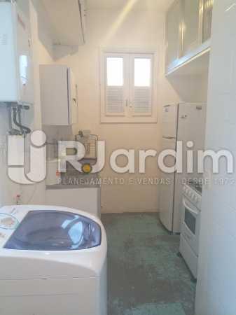 cozinha/area - Apartamento Leblon, Zona Sul,Rio de Janeiro, RJ Para Alugar, 2 Quartos, 85m² - LAAP21482 - 14