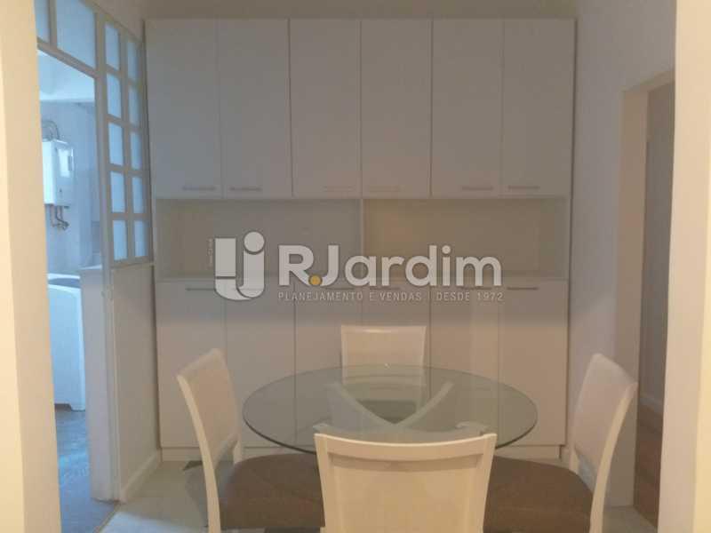 sala - Apartamento Leblon, Zona Sul,Rio de Janeiro, RJ Para Alugar, 2 Quartos, 85m² - LAAP21482 - 5