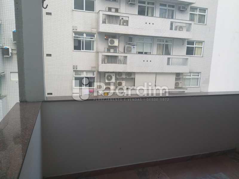 varanda - Apartamento Leblon, Zona Sul,Rio de Janeiro, RJ Para Alugar, 2 Quartos, 85m² - LAAP21482 - 1