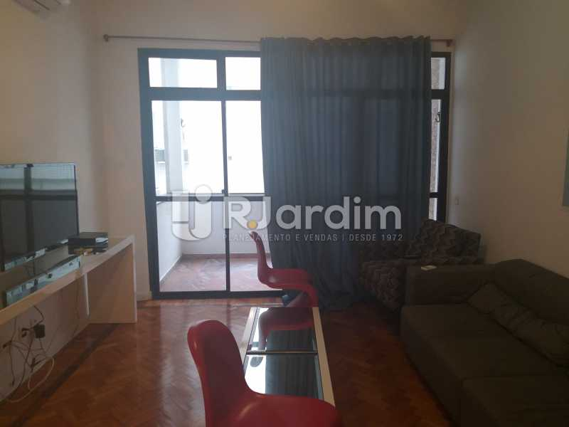 sala - Apartamento Leblon, Zona Sul,Rio de Janeiro, RJ Para Alugar, 2 Quartos, 85m² - LAAP21482 - 3