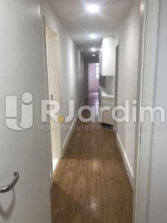 corredor  - Apartamento Para Alugar - Leblon - Rio de Janeiro - RJ - LAAP40778 - 13