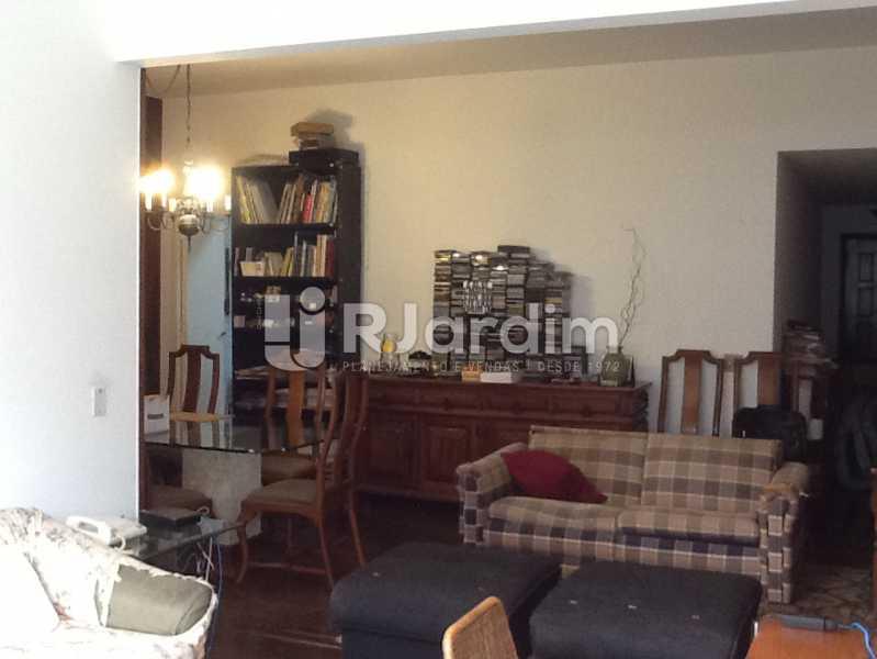 Sala - Apartamento Avenida Alexandre Ferreira,Lagoa, Zona Sul,Rio de Janeiro, RJ À Venda, 3 Quartos, 122m² - LAAP32095 - 1