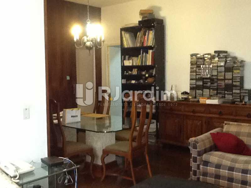 Sala - Apartamento Avenida Alexandre Ferreira,Lagoa, Zona Sul,Rio de Janeiro, RJ À Venda, 3 Quartos, 122m² - LAAP32095 - 3