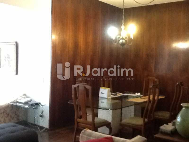 Sala - Apartamento Avenida Alexandre Ferreira,Lagoa, Zona Sul,Rio de Janeiro, RJ À Venda, 3 Quartos, 122m² - LAAP32095 - 4