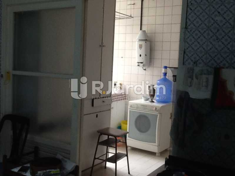 Área de serviço - Apartamento Avenida Alexandre Ferreira,Lagoa, Zona Sul,Rio de Janeiro, RJ À Venda, 3 Quartos, 122m² - LAAP32095 - 21