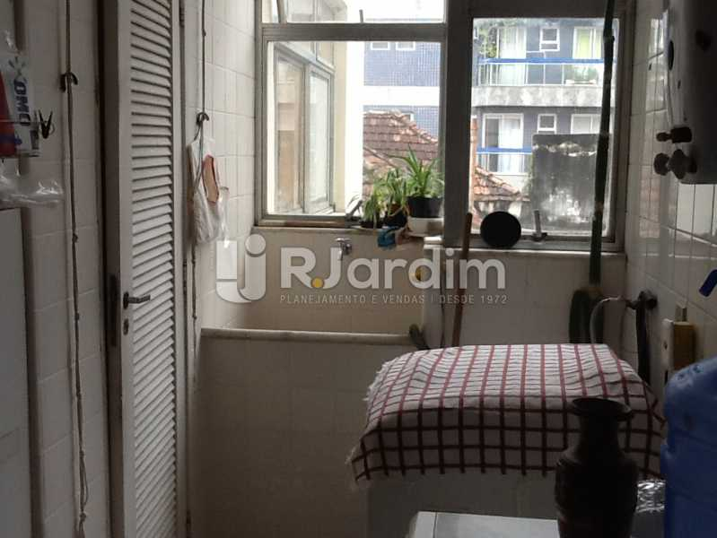 Área de serviço - Apartamento Avenida Alexandre Ferreira,Lagoa, Zona Sul,Rio de Janeiro, RJ À Venda, 3 Quartos, 122m² - LAAP32095 - 23