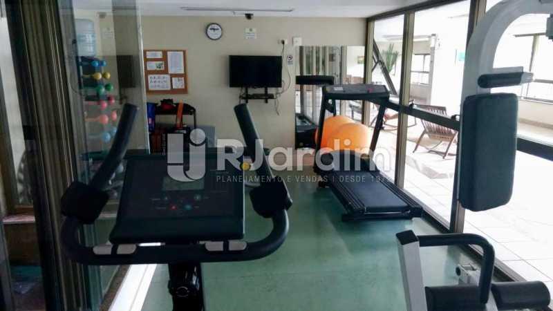 academia  - Flat Residencial Lagoa Suíte Garagem Aluguel Administração Imóveis - LAFL10092 - 12