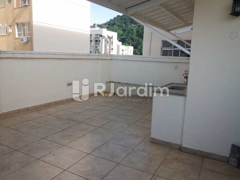 Área de lazer - Apartamento À Venda - Humaitá - Rio de Janeiro - RJ - LAAP21490 - 20