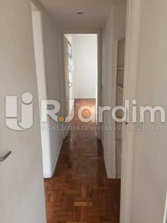 Corredor - Apartamento 2 quartos para alugar Jardim Botânico, Zona Sul,Rio de Janeiro - R$ 2.500 - LAAP21503 - 5