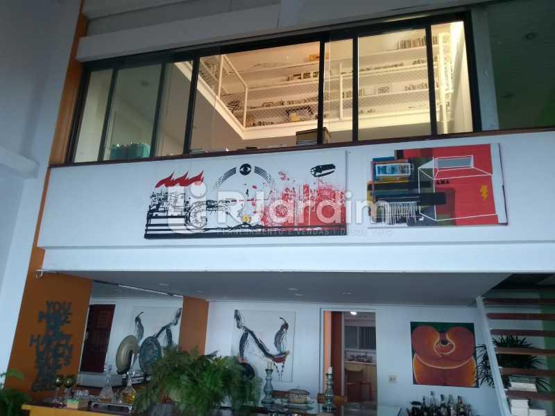 sala/ escritório  - Casa em Condomínio Joá 5 Quartos - LACN50010 - 20
