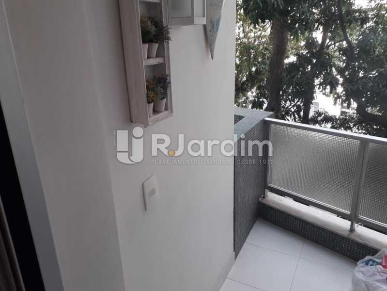 Varanda do Quarto 2 - Apartamento Copacabana, Zona Sul,Rio de Janeiro, RJ À Venda, 3 Quartos, 145m² - LAAP32115 - 14