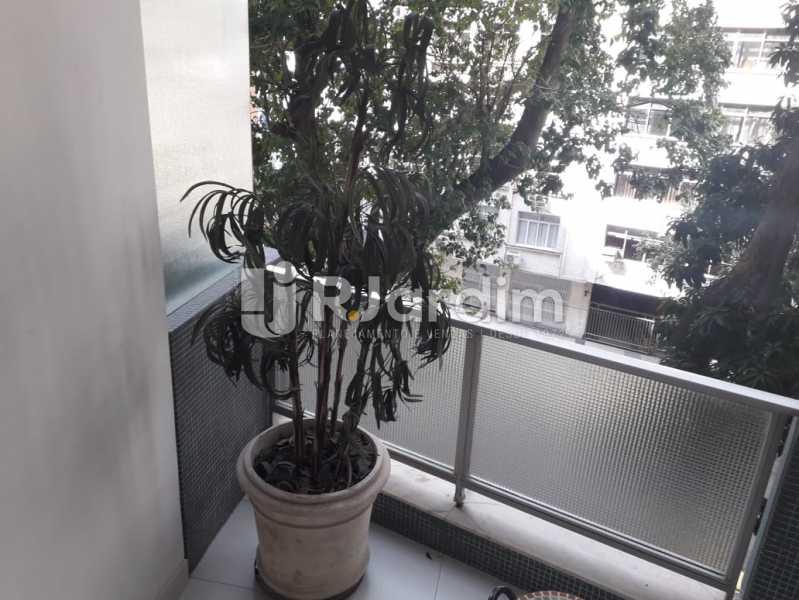 Varanda da Sala - Apartamento Copacabana, Zona Sul,Rio de Janeiro, RJ À Venda, 3 Quartos, 145m² - LAAP32115 - 5