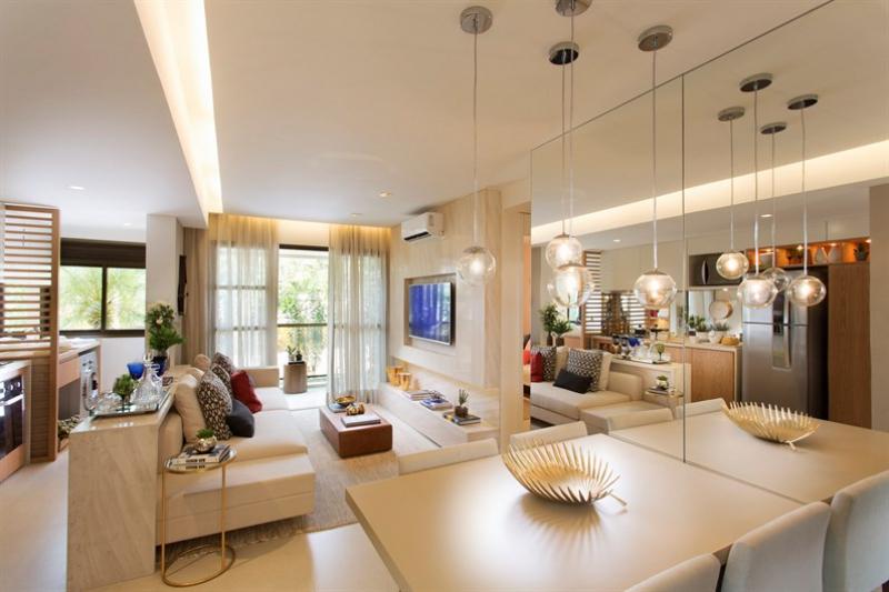 Sala do Apartamento  - Apartamento À Venda - Jacarepaguá - Rio de Janeiro - RJ - LAAP21502 - 1