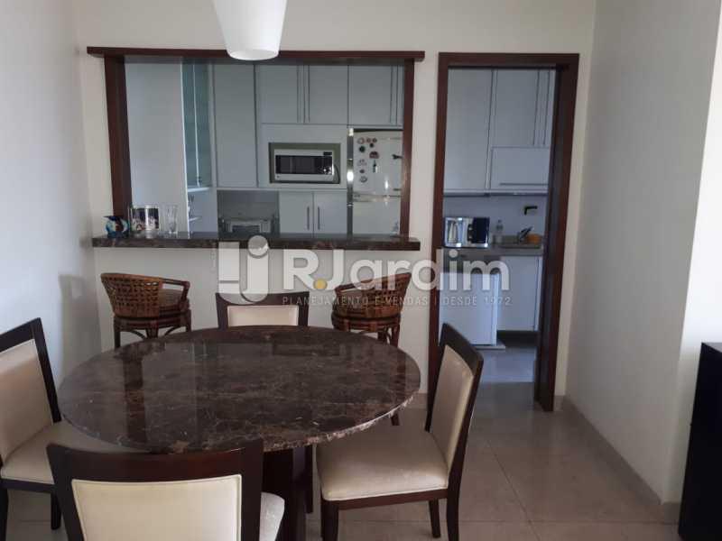 Sala jantar/cozinha - Apartamento Copacabana 3 Quartos - LAFL30005 - 6