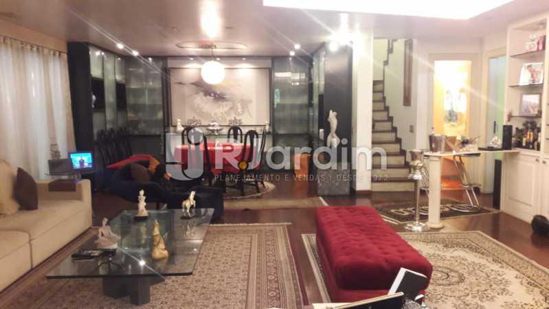 Sala - Leblon, apartamento duplex, 3 quartos - LAAP32108 - 4