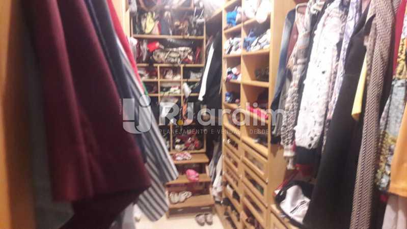 Closet - Leblon, apartamento duplex, 3 quartos - LAAP32108 - 21