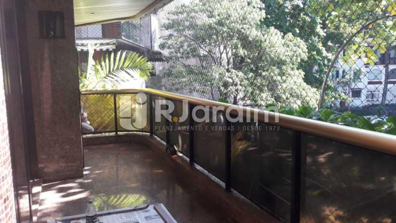 Varanda - Leblon, apartamento duplex, 3 quartos - LAAP32108 - 1