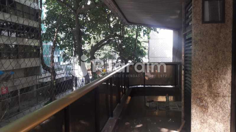 Varanda - Leblon, apartamento duplex, 3 quartos - LAAP32108 - 23