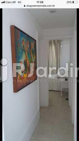 Sala - Flat Rua Professor Antônio Maria Teixeira,Leblon, Zona Sul,Rio de Janeiro, RJ À Venda, 2 Quartos, 73m² - LAFL20091 - 24