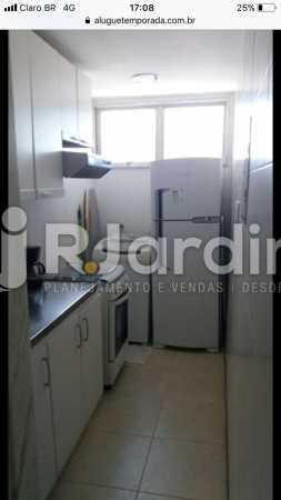 Cozinha - Flat Rua Professor Antônio Maria Teixeira,Leblon, Zona Sul,Rio de Janeiro, RJ À Venda, 2 Quartos, 73m² - LAFL20091 - 27