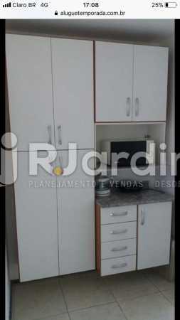 Cozinha - Flat Rua Professor Antônio Maria Teixeira,Leblon, Zona Sul,Rio de Janeiro, RJ À Venda, 2 Quartos, 73m² - LAFL20091 - 26